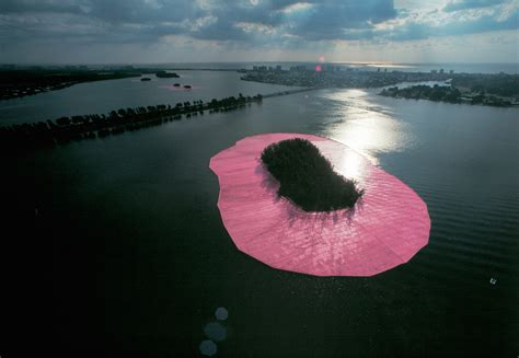 surrounded islands  christo  jeanne claude