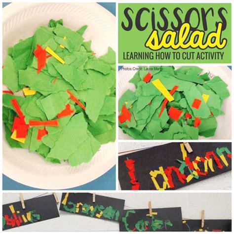 5 activities you shouldn t skip the week of 879 | scissors salad teach how to cut activity in kindergarten