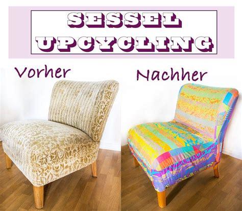 Do It Yourself Möbel Anleitung by Upcycling Patchwork Bezug F 252 R Alten Sessel Anleitungen