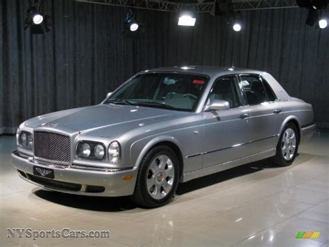 bentley silver 2003 bentley arnage r in silver pearl x09465