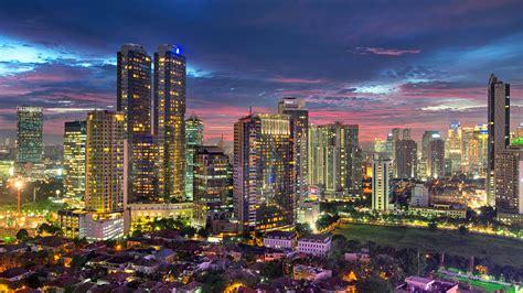 jakarta city cityscape wallpapers hd desktop