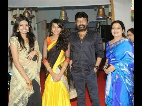 jeevitha tv actress actress jeevitha rajasekhar with family video youtube