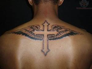 Cross tattoos for men upper arm ~ Tattooic