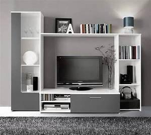 Meuble Tv C Discount : cdiscount meuble tv mural finlandek tilvi 220cm 142 95 ~ Teatrodelosmanantiales.com Idées de Décoration