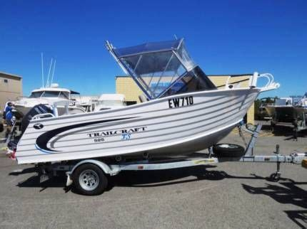 Trailcraft Boats For Sale Gumtree Perth trailcraft 525 freestyle great boat sturdy n safe
