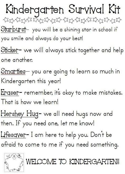 25 best ideas about student survival kits on 767 | 67246f1e116388bfba630c4a6b5a0c49 kindergarten freebies kindergarten classroom