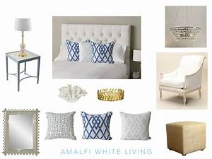 How to create a Hamptons style bedroom - Amalfi White Living