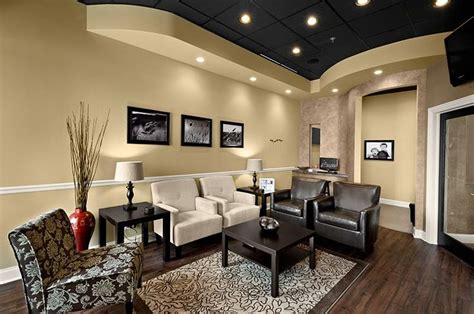 dental office build out waiting room chiropractic office