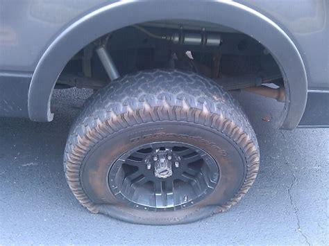 Wtf!!!!! Flat Tire.