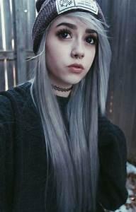 silver scene hair | Tumblr