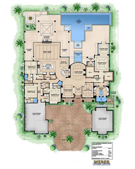 amazingplanscom house plan caribbean breeze british west indies