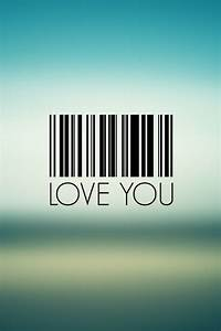 I Love You Barcode