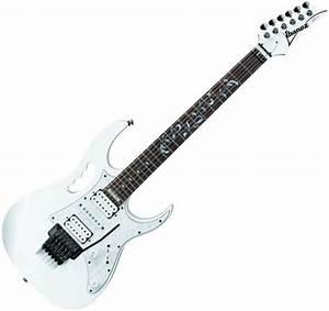 Guitare  U00e9lectrique Solid Body Ibanez Steve Vai Jem555 Wh - White Blanc