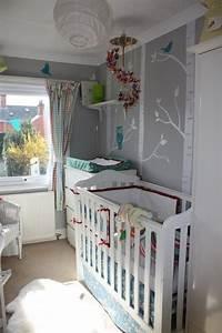 Kleines Kinderzimmer Ideen : graue nuancen ideen kleines babyzimmer gestalten kinderzimmer pinterest kleine babyzimmer ~ Orissabook.com Haus und Dekorationen