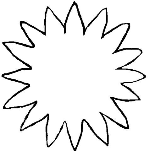sunflower printable clipart clipart suggest