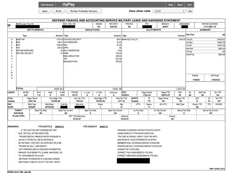 military pay stub   read wwwproteckmachinerycom