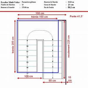 Calcul Escalier Quart Tournant : calculer un escalier avec palier 28 images escalier ~ Dailycaller-alerts.com Idées de Décoration