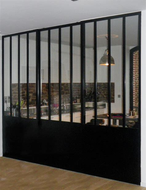rideaux cuisine design verrière atelier