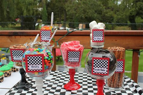 race car themed birthday party google search party