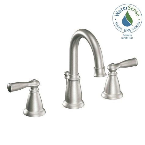 Moen Banbury Kitchen Faucet by Moen Banbury 8 In Widespread 2 Handle High Arc Bathroom
