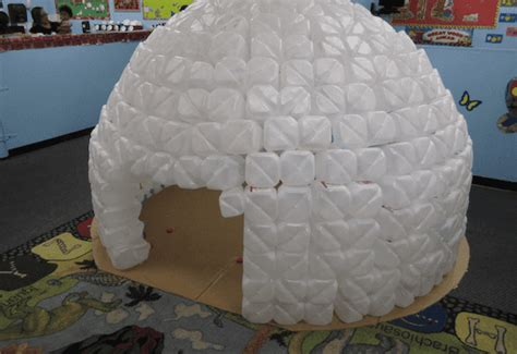 check out this adorable igloo made entirely out of 569 | igloo reverse 537x369