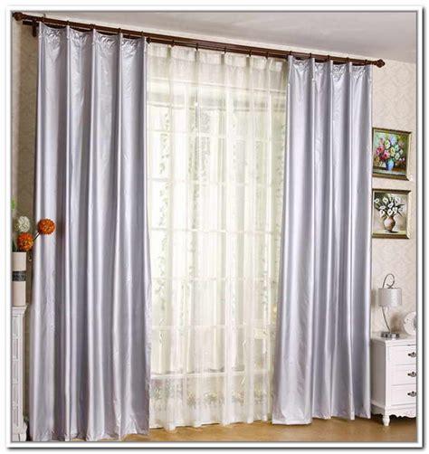 Decorating Ideas Sliding Glass Door Curtains Elitflat