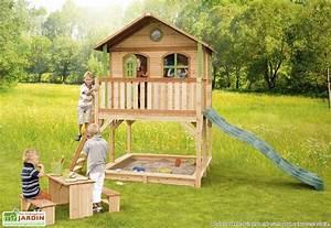 Maison Pour Enfant En Bois : maison jardin enfant homeandgarden ~ Premium-room.com Idées de Décoration