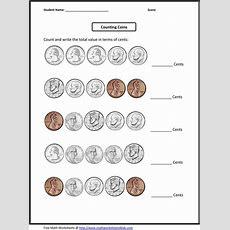 4th Grade Worksheets  Fourth Grade Math Worksheets  Homeschool Stuff  Pinterest Coins
