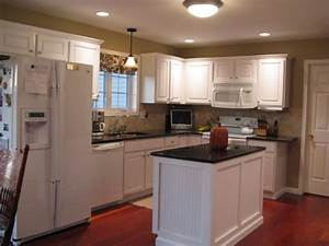 L shaped kitchen designs for small kitchens small for Tips to remodel a small l shaped kitchen
