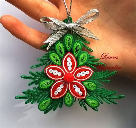 quilled christmas ornament patterns ornament pentru craciun pap 237 rcs 237 k technika quiling quilling my and