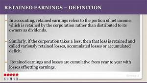 Fm retained earnings