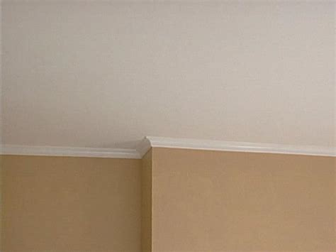 how to install crown molding hgtv