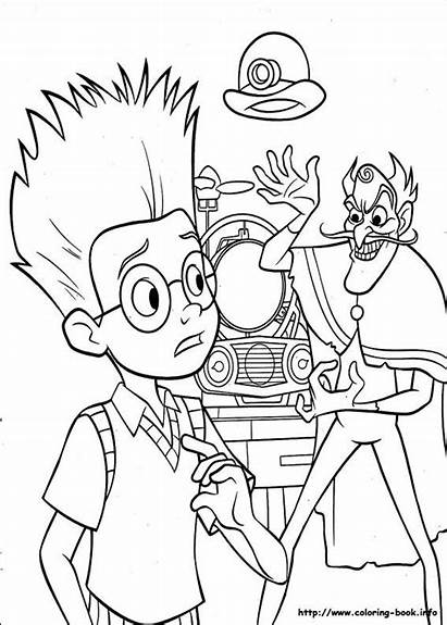 Coloring Meet Robinsons Pages Lewis Worried Robinson