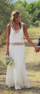robe de mariee boheme chic marsz weselny mendelsona With createur robe mariee boheme