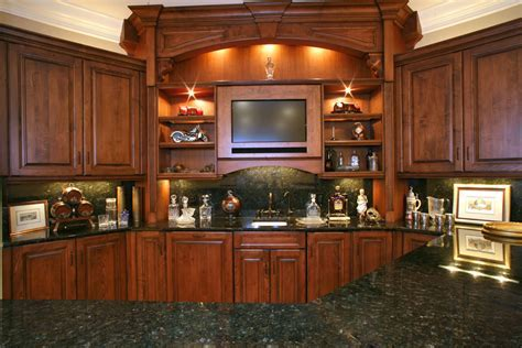 Peacock green verde granite cherry cabinets, need