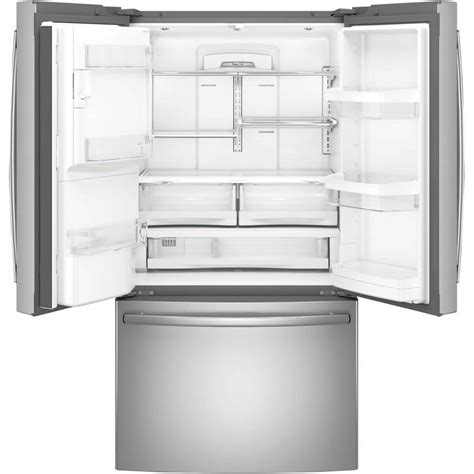ge  cu ft french door counter depth refrigerator stainless  appliance outlet