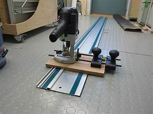 Modifying a Makita guide rail to work with Festool