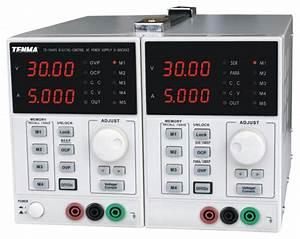 Dual Output Dc Bench Power Supply - 30v  5a