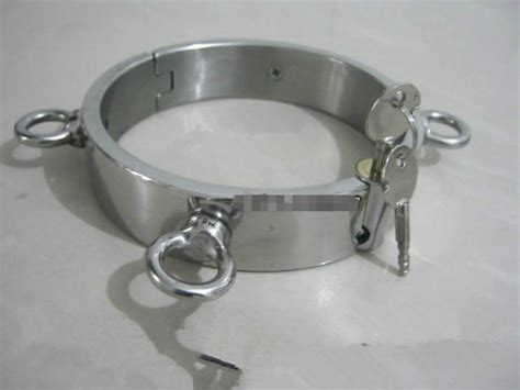 Stainless Steel Bondage Gear Bdsm Collar Neck Collars With