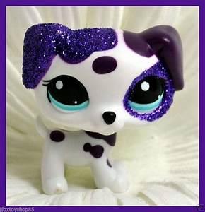 Littlest Pet Shop Dog Glitter Dalmatian 2136