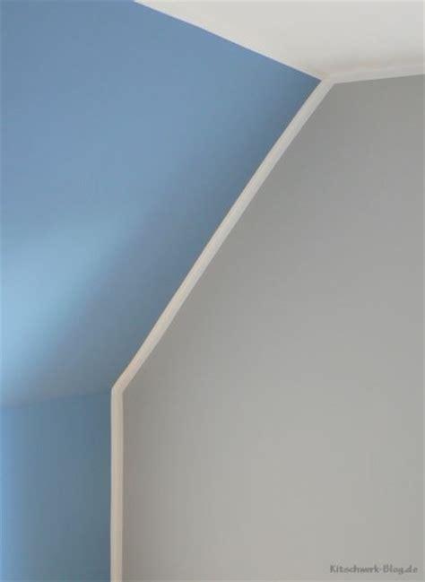 Wände Gestalten Mit Farbe Streifen by Diy W 228 Nde Farbig Streichen Der Trick Kitschwerk De