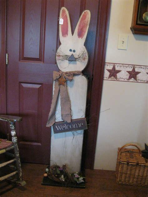 Rabbit Primitive Spring Easter Pinterest