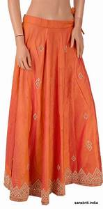 Sanskriti vintage indian party wear hand beaded long skirt ...