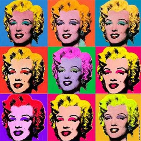 reproduction du tableau marilyn warhol
