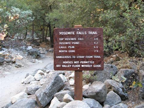 Dan Hiking Log Upper Yosemite Falls Point