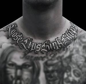 50 Old English Tattoos For Men - Retro Font Ink Design Ideas