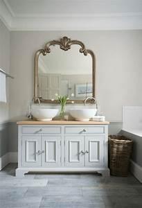 Miroir Salle De Bain Rangement : agencement salle de bain id es d 39 organisation et de d co ~ Teatrodelosmanantiales.com Idées de Décoration