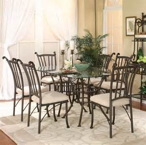 glass dining room table set beyond stores discount home furniture top brand names