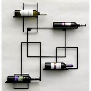 DanDiBo Casier Vin QuotBlack Linequot Porte Bouteilles Mtal