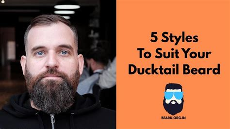 Styles To Suit Your Ducktail Beard Youtube